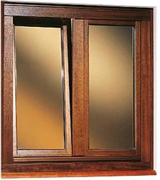 Infissi finestre in legno a roma - Finestre alluminio anodizzato ...