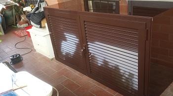 Mobili da balcone a roma for Coprilavatrice alluminio