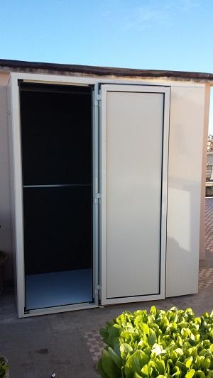 Armadietti per esterni offerte armadi per esterno for Mobili in alluminio per esterni