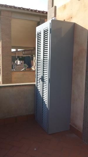 Mobili per esterno in alluminio design casa creativa e for Mobili in alluminio per esterni