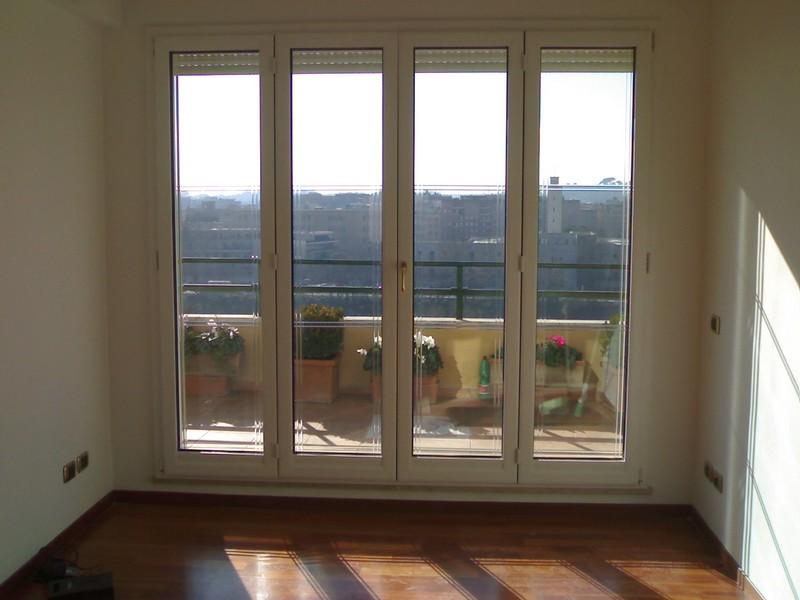 Infissi pvc roma galleria lavori - Costo porta finestra pvc ...
